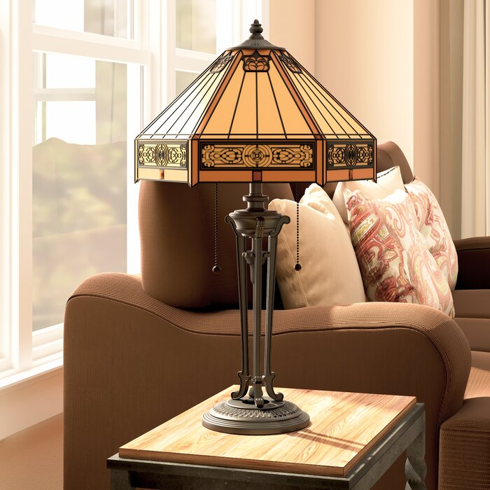 Darby home co otto 23 table lamp reviews wayfair otto 23 table lamp mozeypictures Image collections