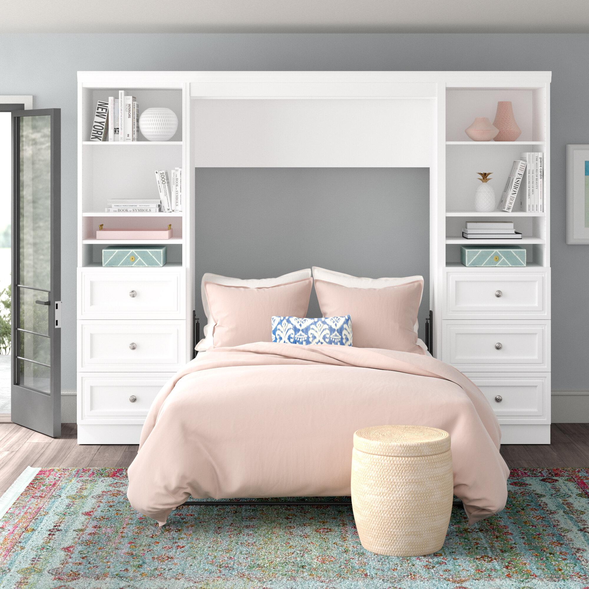 Murphy Bed.Acevedo Storage Murphy Bed