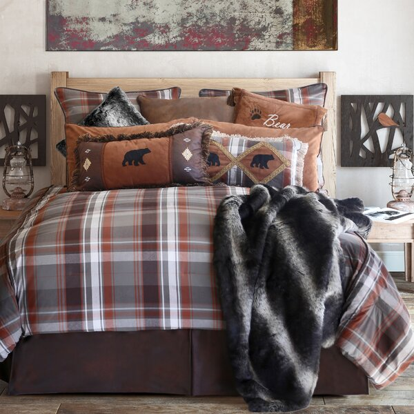carstens inc grand teton plaid comforter collection u0026 reviews wayfair
