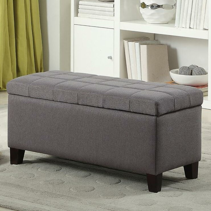 Reginald Fabric Storage Ottoman