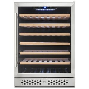 54 Bottle Single Zone Built-In Wine Coole..