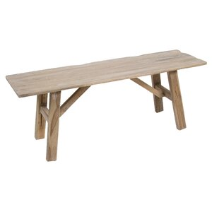 Sitzbank aus Holz von Castleton Home