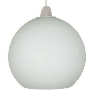Glass ball ceiling light wayfair glass ball 20cm glass sphere pendant shade by loxton lighting aloadofball Images