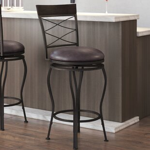 Valle 2-in-1 Adjustable Height Swivel Bar Stool