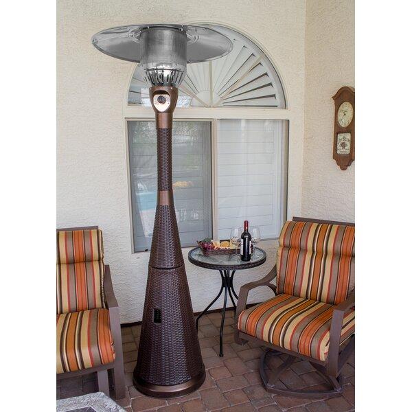 Wonderful AZ Patio Heaters Complete Wicker 41,000 BTU Propane Patio Heater U0026 Reviews  | Wayfair