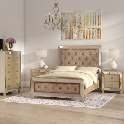 Mirrored Bedroom Furniture Wayfair