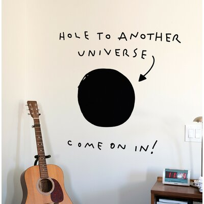 BLIK Inc Hole to Another Universe Wall Decal