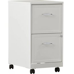 White Filing Cabinets