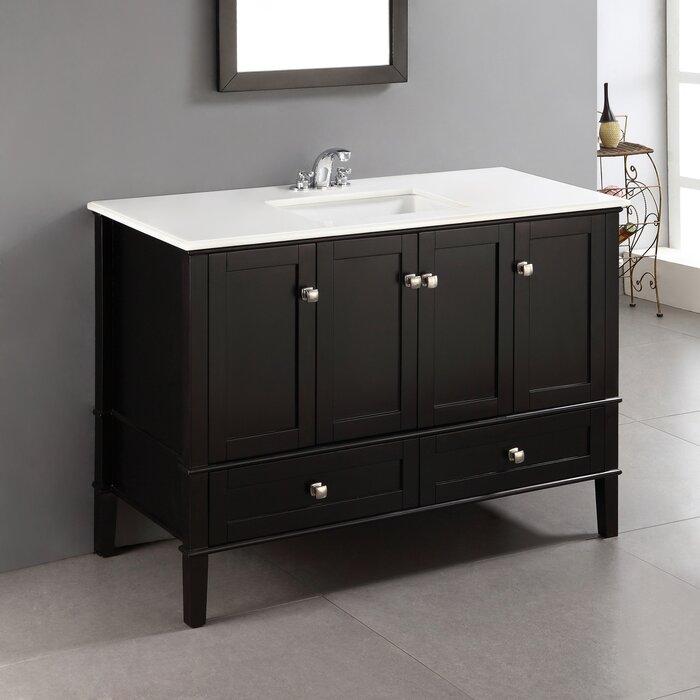 Simpli Home Chelsea 49 Single Bathroom Vanity Reviews