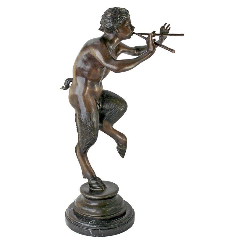 Design Toscano Pan Greek God Of The Forest Statue Wayfair