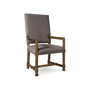 Darcy Uph Back Arm Chair (Set of 2) by One Allium Way
