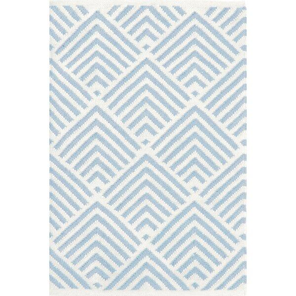 Bunny Williams Cleo Blue White Graphic Indoor Outdoor Area Rug Reviews Wayfair