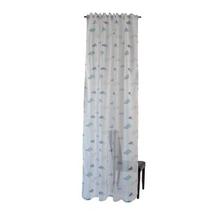 Cloud Tab Top Semi Sheer Panel Curtains