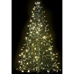 Crab Pot Christmas Treeu00ae with 240 LED Mini Lights