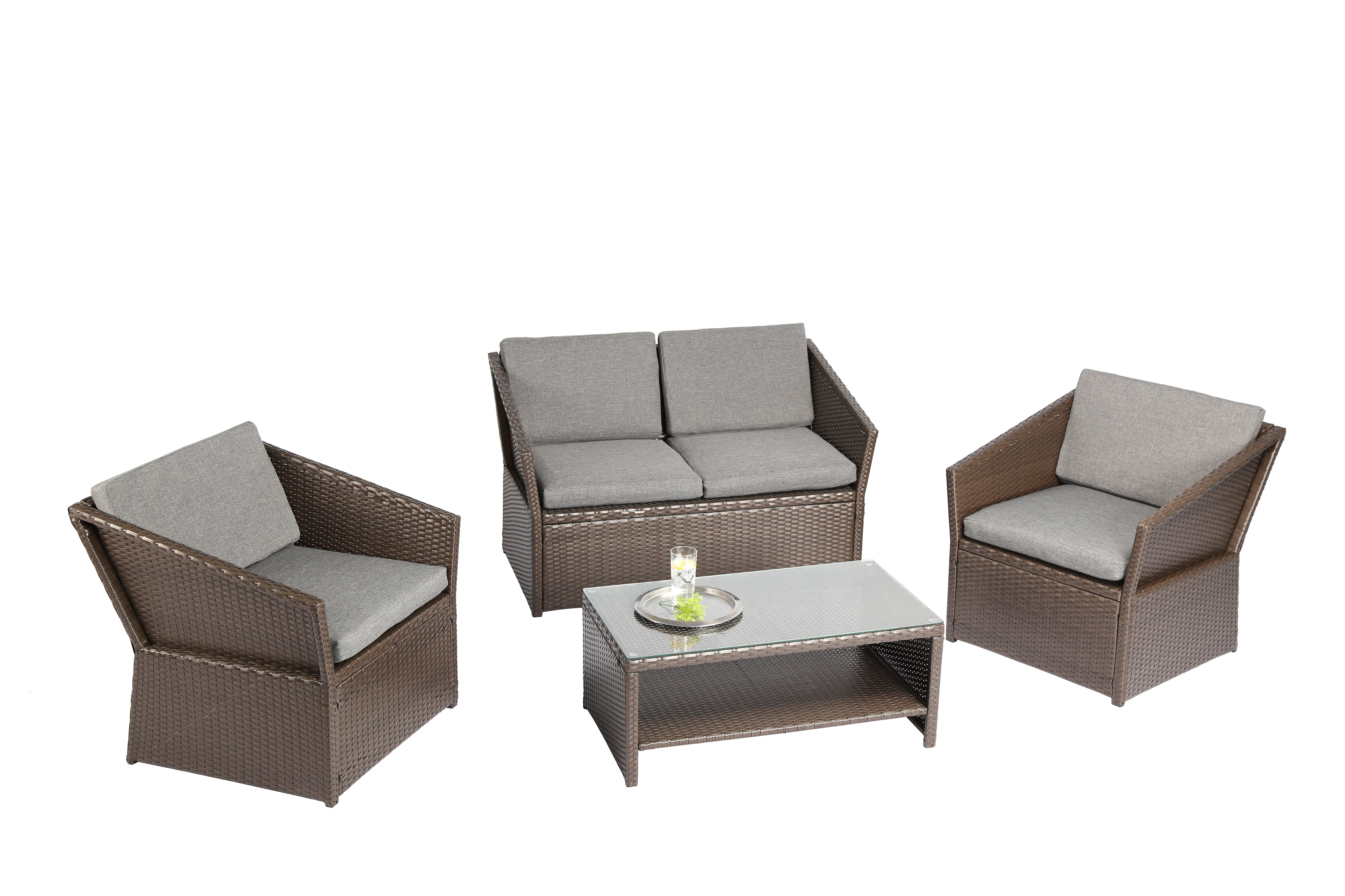 40571feeb79e Baner Garden 4 Piece Dining Set with Cushions & Reviews   Wayfair