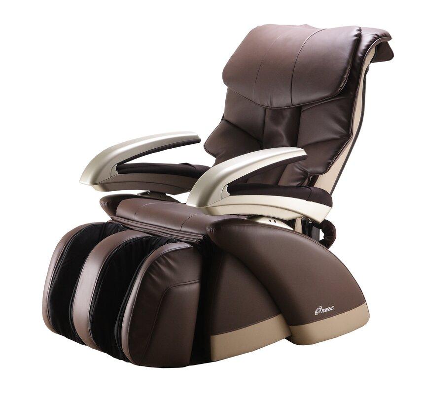 Reclining Massage Chair masse la inspra reclining massage chair | wayfair