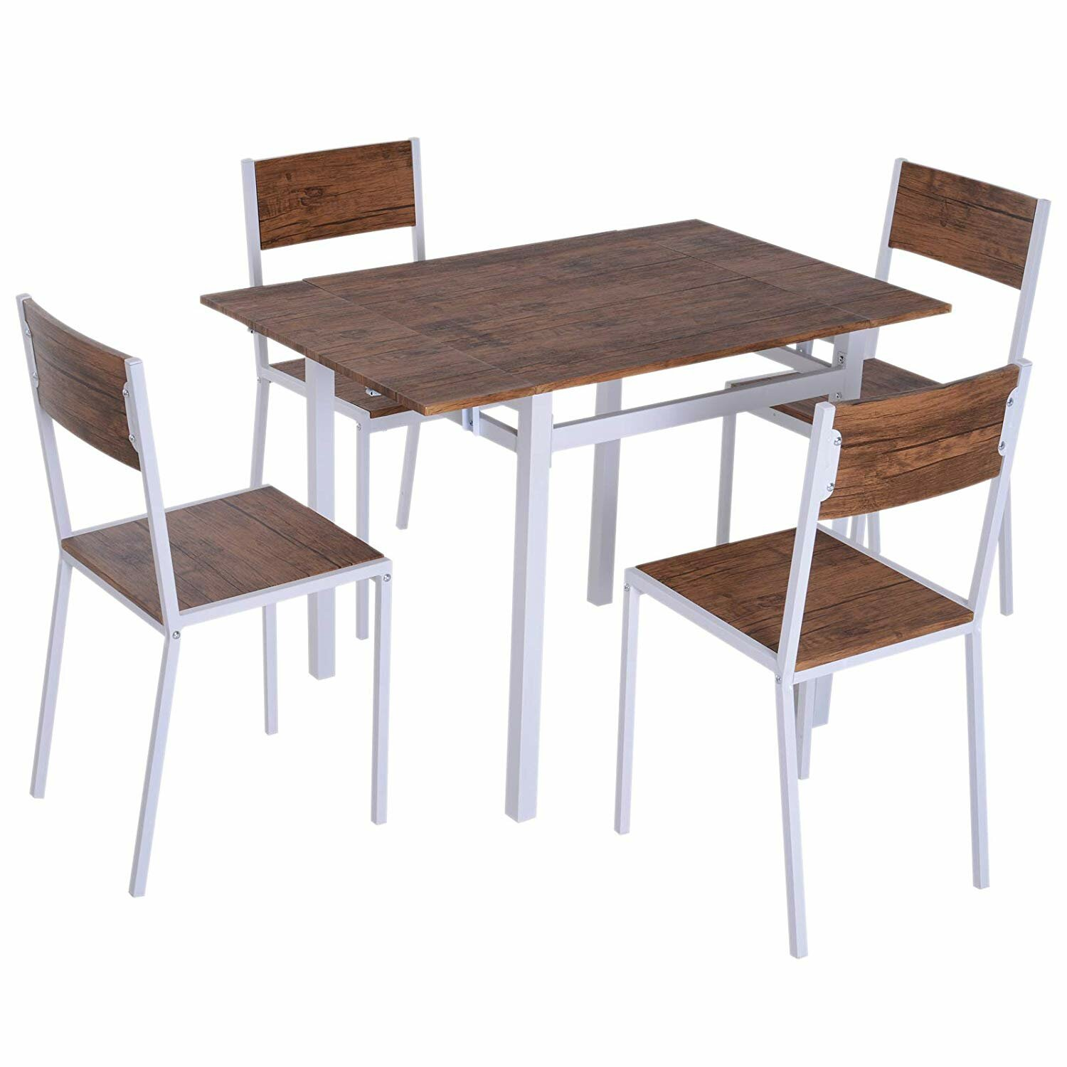 Fine Virgil Dining Table Set With 4 Chairs Download Free Architecture Designs Viewormadebymaigaardcom
