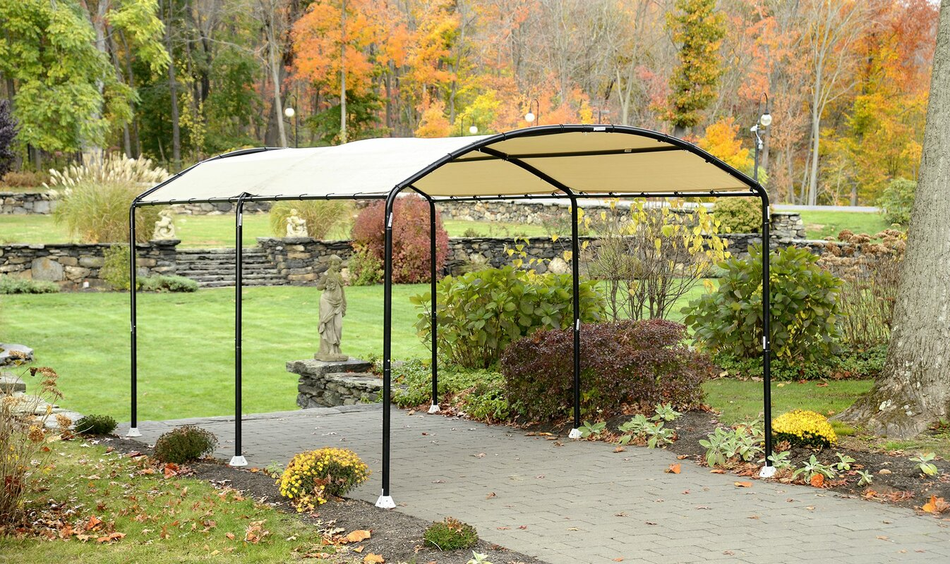 Monarc 10 Ft. W x 18 Ft. D Steel Pop-Up Canopy & ShelterLogic Monarc 10 Ft. W x 18 Ft. D Steel Pop-Up Canopy ...