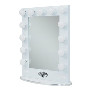 Vanity mirrors with lights youll love wayfair save aloadofball Gallery