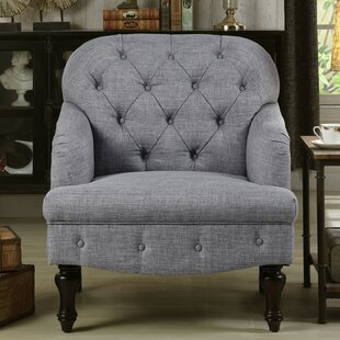 Dark Grey Club Chair   Wayfair
