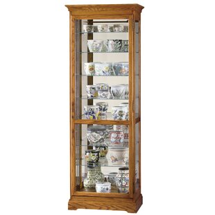 Broadnax Lighted Curio Cabinet