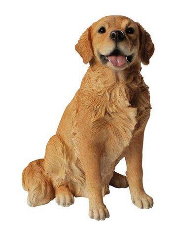 Popular Hi-Line Gift Ltd. Sitting Dog Golden Retriever Statue & Reviews  YN71