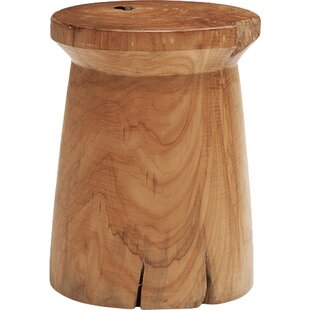Modern Contemporary Teak Bathroom Stool Allmodern