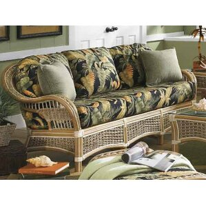 Spice Islands Wicker Islander'' Sofa Image