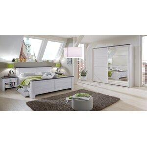4-tlg. Schlafzimmer-Set Chateau, 180 x 200 cm v..