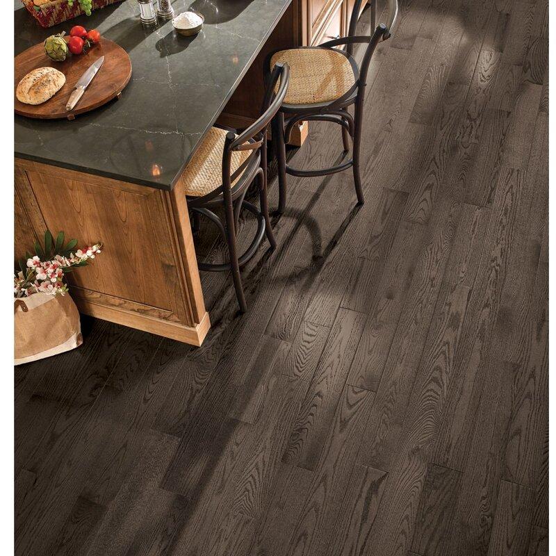 Armstrong Flooring Paragon 5 Solid Oak Hardwood Flooring In Premier