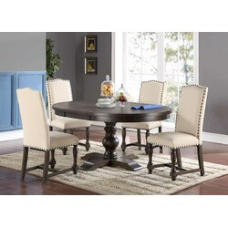 Dining Room Table Extendable laurel foundry modern farmhouse fortunat extendable dining table