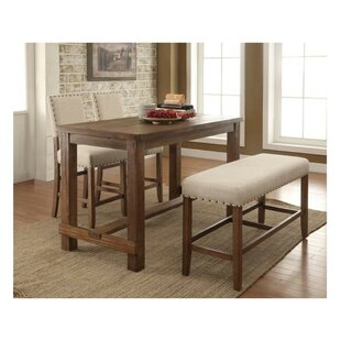 Duhon Contemporary Counter Height 4 Piece Dining Set