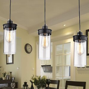 Elpis 3 Light Kitchen Island Pendant
