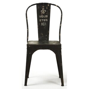 Christelle Iron Side Chair by Zentique Inc.