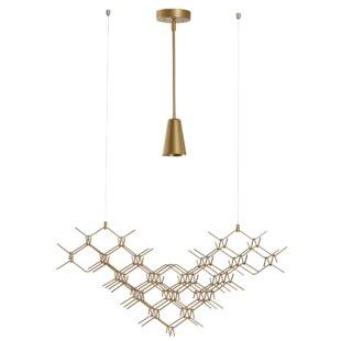 1 Light Geometric Pendant