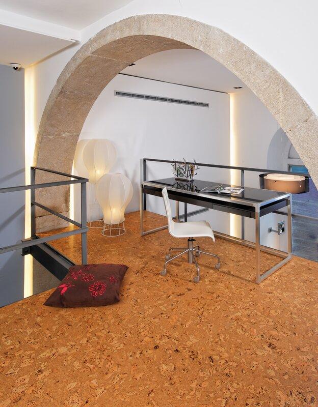 "12"" Cork Flooring in Odyseus Natural"
