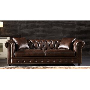 Cozzens Chesterfield Sofa by Canora Grey