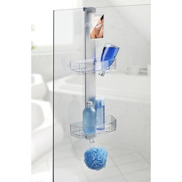 Shower Caddy With Mirror | Wayfair