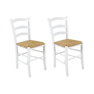 capri ll s solid wood dining chairs set of 2
