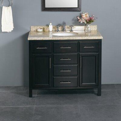 "ove decors berlin 42"" single bathroom vanity set & reviews | wayfair"