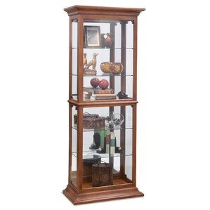 Fairfield I Lighted Curio Cabinet by Phil..