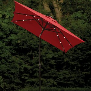 Allston 9' X 7' Rectangular Lighted Umbrella