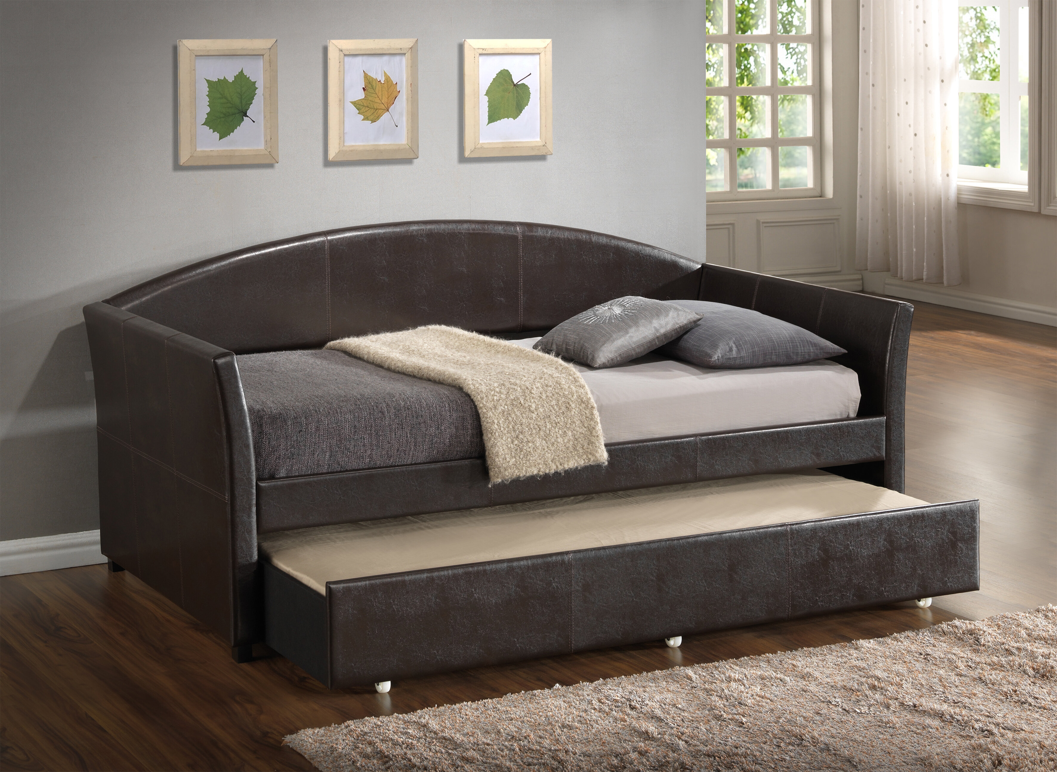 Wade Logan Ridgecrest Daybed With Trundle Amp Reviews Wayfair