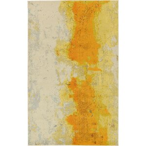Tavistock Yellow Area Rug