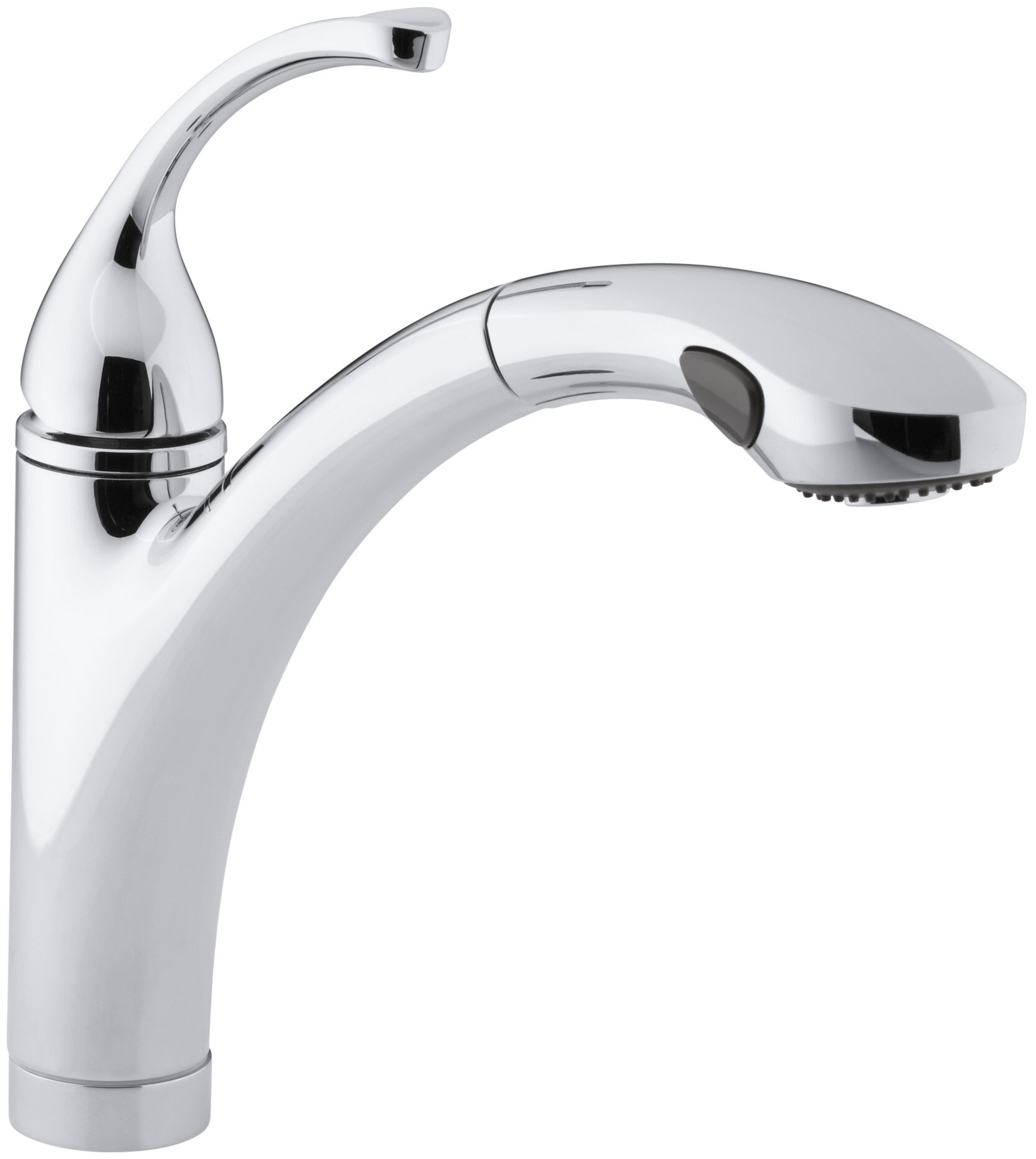 Forté Single-Hole or 3-Hole Kitchen Sink Faucet with 10-1/8\