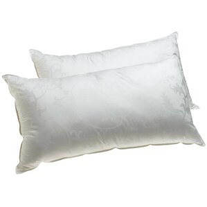 Supreme Plus Filled Gel Fiber Pillow (Set of 2) by Deluxe Comfort