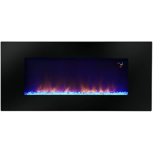 Warm House Amazon Widescreen Wall Mount Electric Fireplace by Warm House