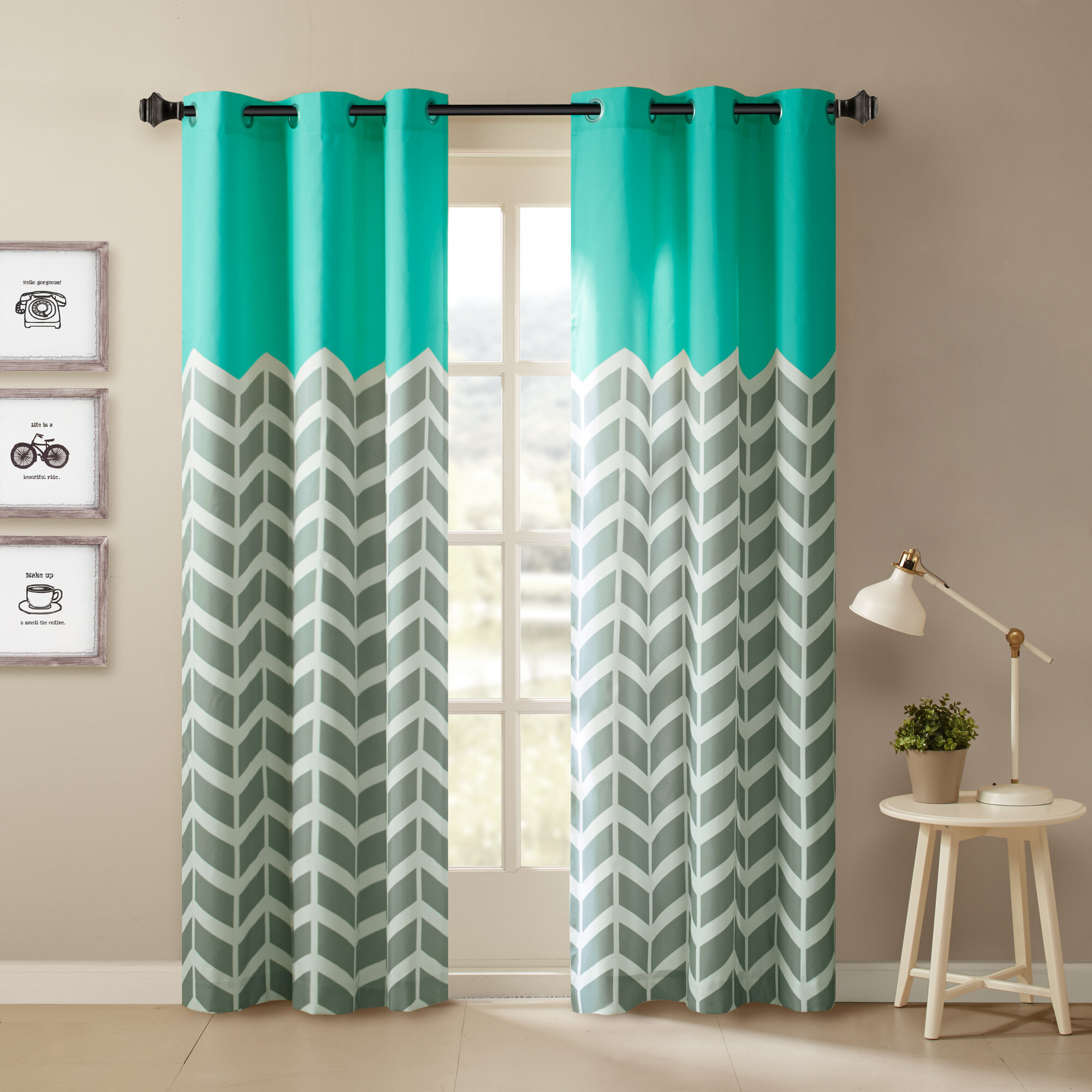 single patio basics treatments panel window pdx curtain blackout solid reviews wayfair curtains grommet