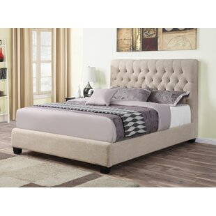 Upholstered Panel Bed By Wildon Home