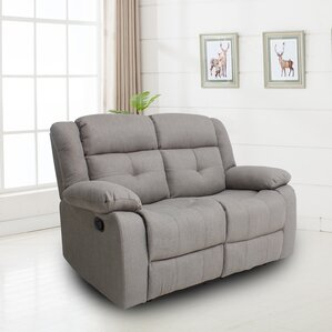 Red Barrel Studio Torie Motion Reclining Loveseat Image